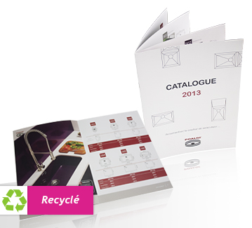 impression de brochures a4 recycle pas cher