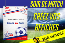 impression affiche foot 2016