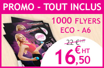 impression flyers pas cher