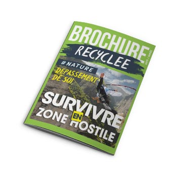 Brochure A5 (recyclé)