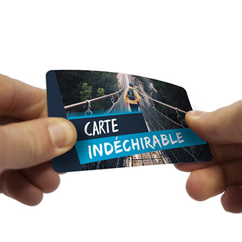 Carte indéchirable