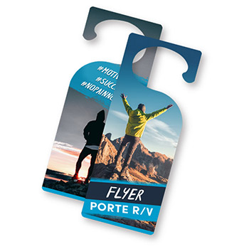 Flyers porte recto-verso