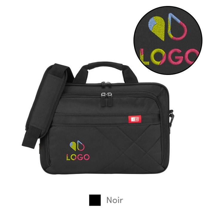 "Sacoche transport brodée pour PC 15"" - Case Logic™"