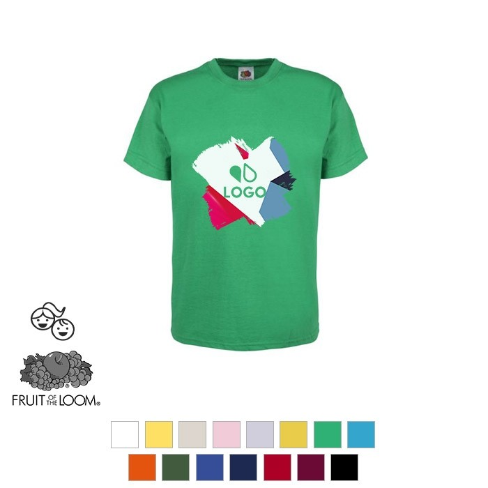 T-shirt enfant en coton - Fruit of the Loom®