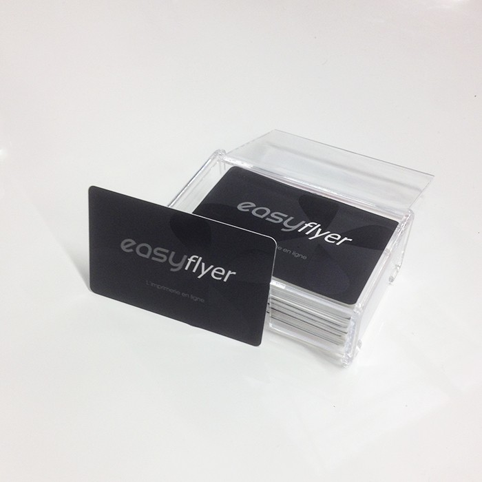 Distributeur De Cartes Visite Transparent