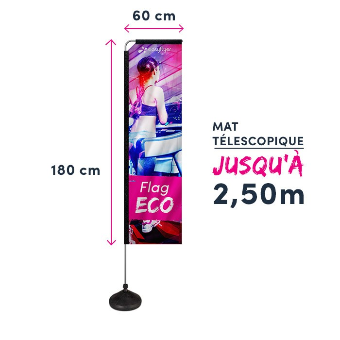 Voile Eco Forme Rectangle - 1 ex