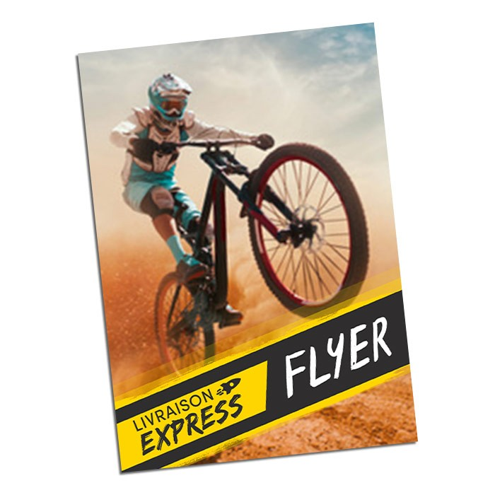Flyers Express 48h Recto 29,7x42 300g - 100 ex