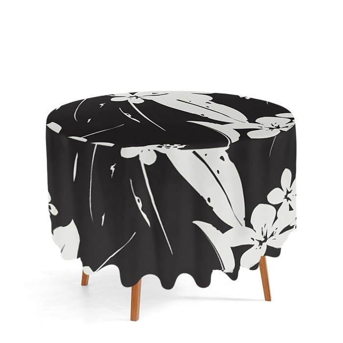 nappe ronde personnalisable d co textile imprim e. Black Bedroom Furniture Sets. Home Design Ideas