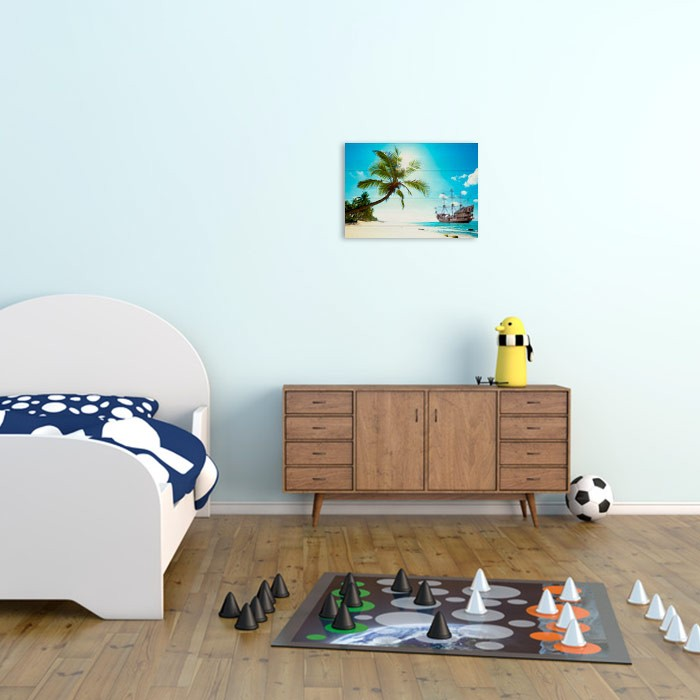 impression tableau photo sur planche en bois. Black Bedroom Furniture Sets. Home Design Ideas