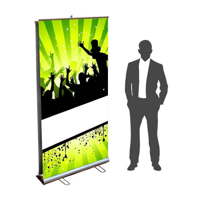 Roll UP Eco recto verso 100 x 200  cm – 2 ex
