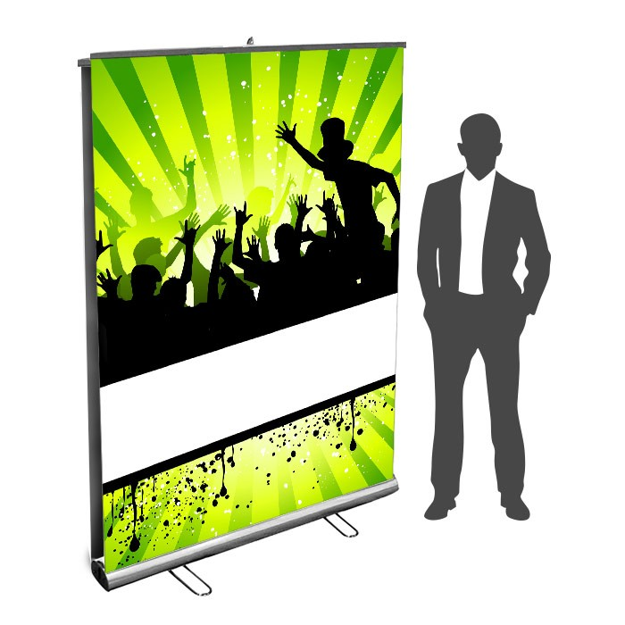 Roll UP Eco recto verso 150 x 200  cm – 5 ex