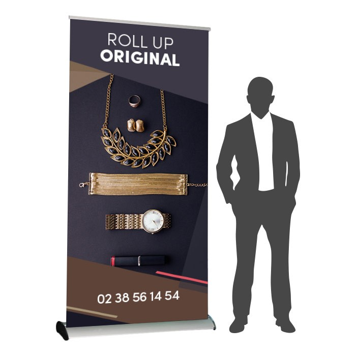 Roll UP Original recto 120 x 214 cm – 8 ex