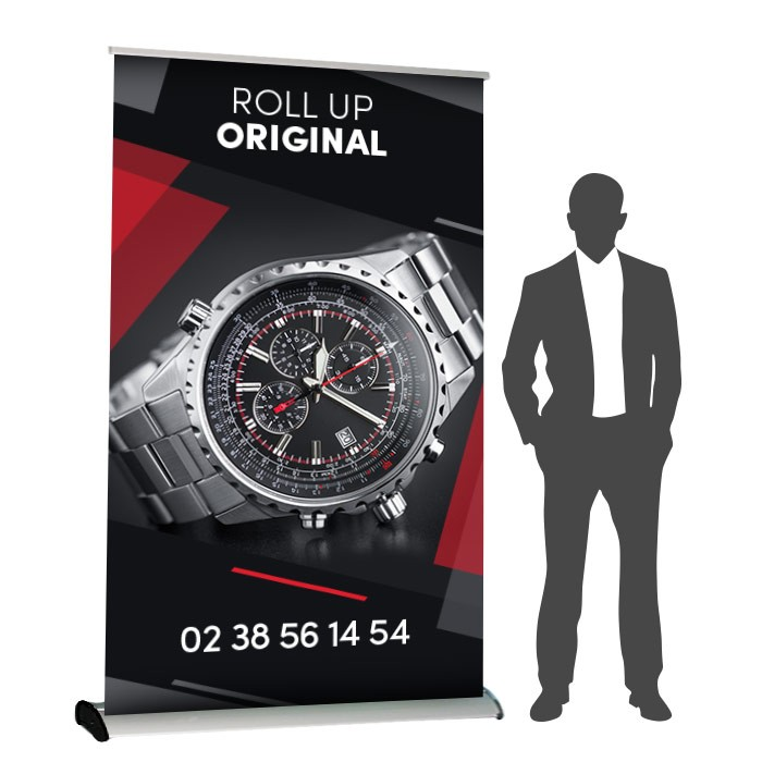 Roll UP Original recto 150 x 214 cm – 7 ex