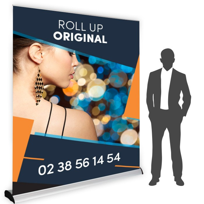 Roll UP Original recto 200 x 214 cm – 2 ex