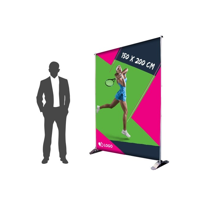 Photocall 150 x 200 cm Recto - Sublimation M1 220g