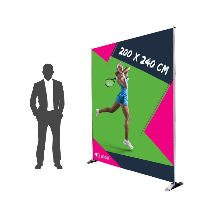 Photocall 200 x 240 cm Recto - Sublimation M1 220g