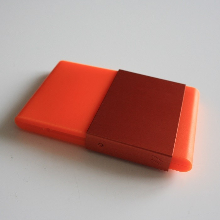 Porte cartes de visite Zeste Orange