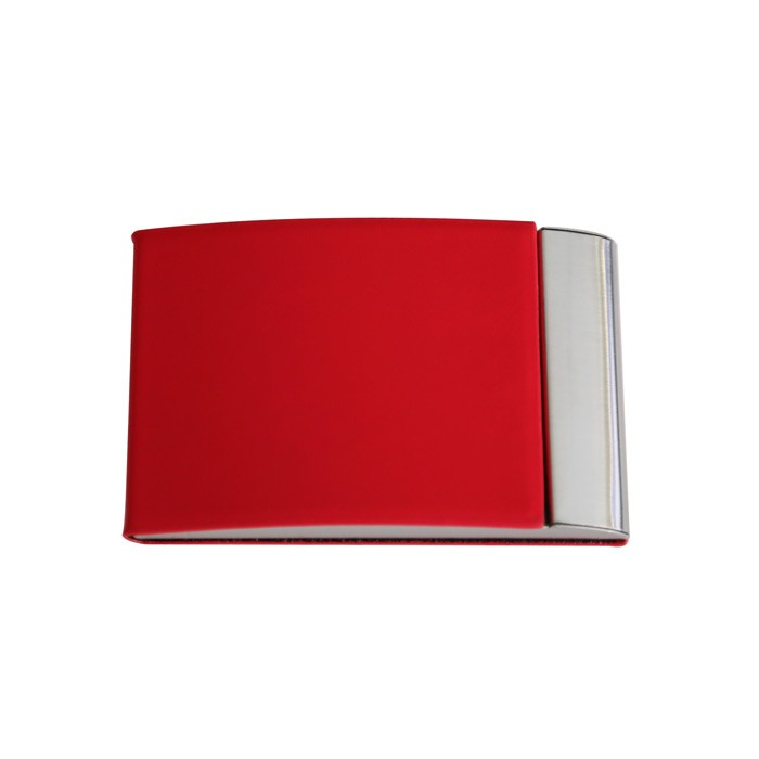 Porte cartes de visite simili-red