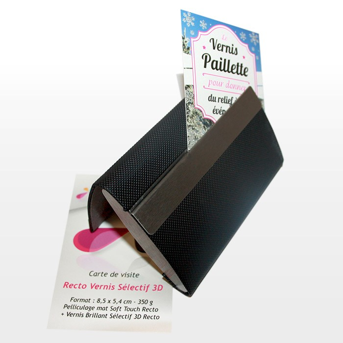 Porte cartes de visite Double Sided