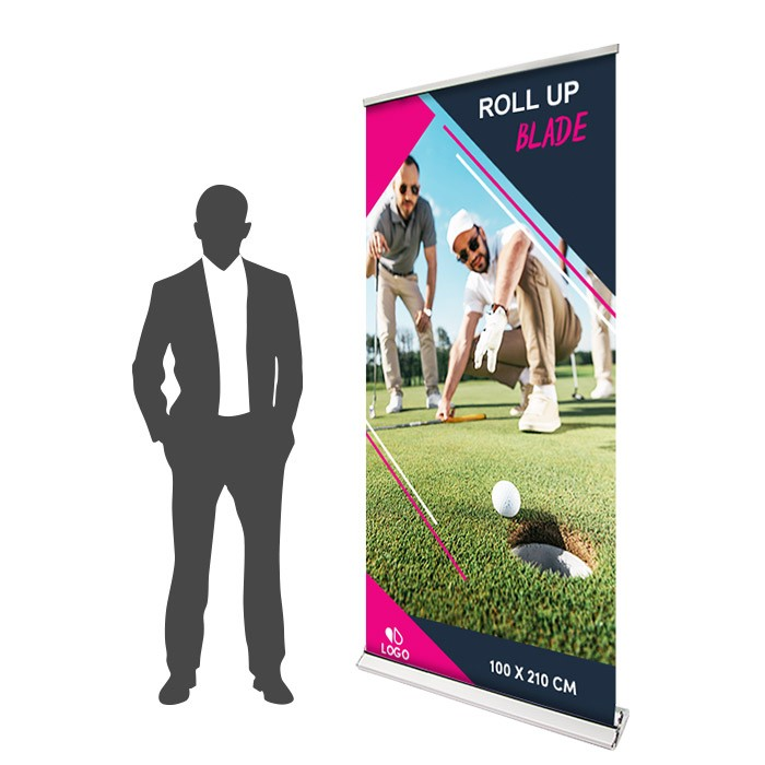 Roll Up Blade Recto 100 x 210 cm – 1 ex