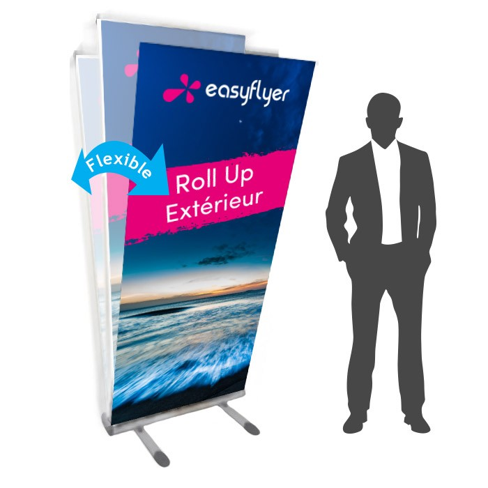 roll up ext rieur plv 85 x 200 cm recto verso