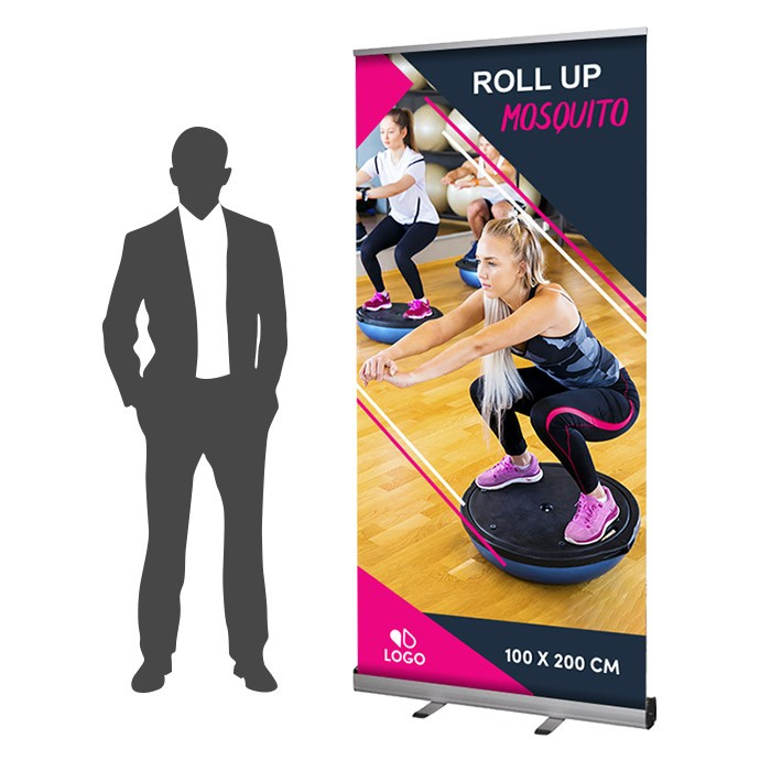 Roll Up Mosquito Recto 100 x 200 cm – 8 ex