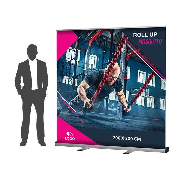 Roll Up Mosquito XXL Recto 200 x 200 cm – 1 ex