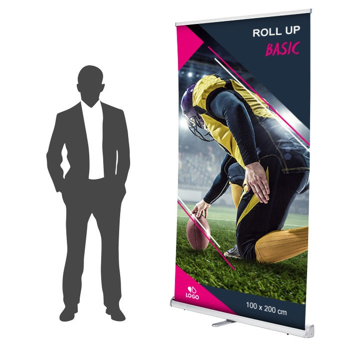 Roll up Basic 100 x 200 cm - 1 ex