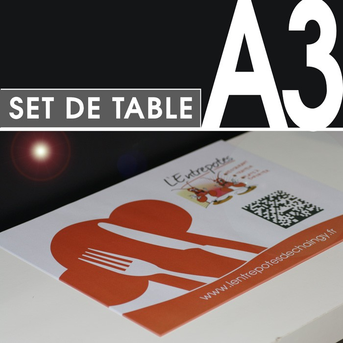 Set de Table de Restaurant