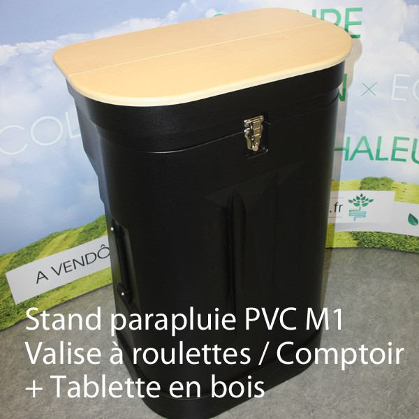 stand parapluie 4x3 pvc courbe 1 ex. Black Bedroom Furniture Sets. Home Design Ideas