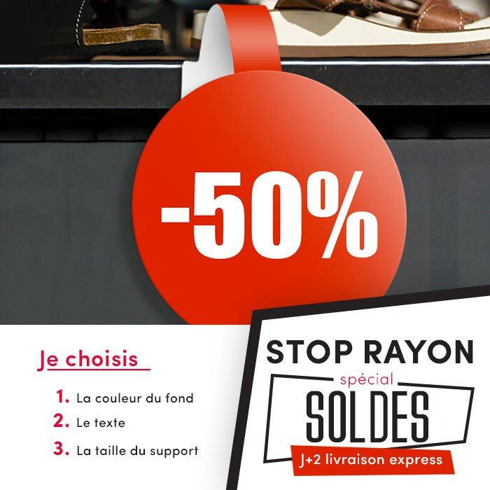 Stop Rayon Rond Spcial SOLDES
