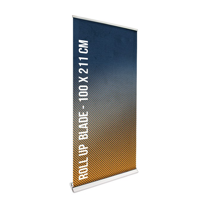 Roll UP Blade recto 100 x 211 cm – 1 ex