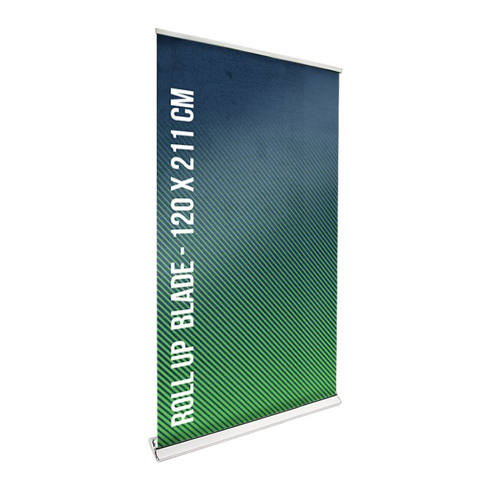 Roll UP Blade recto 120 x 211 cm – 1 ex