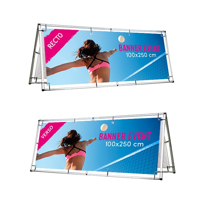 Banner Event 100 x 250 cm