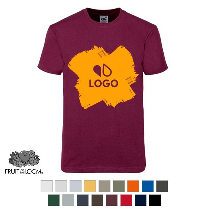 T-shirt unicolore - Fruit of the Loom®