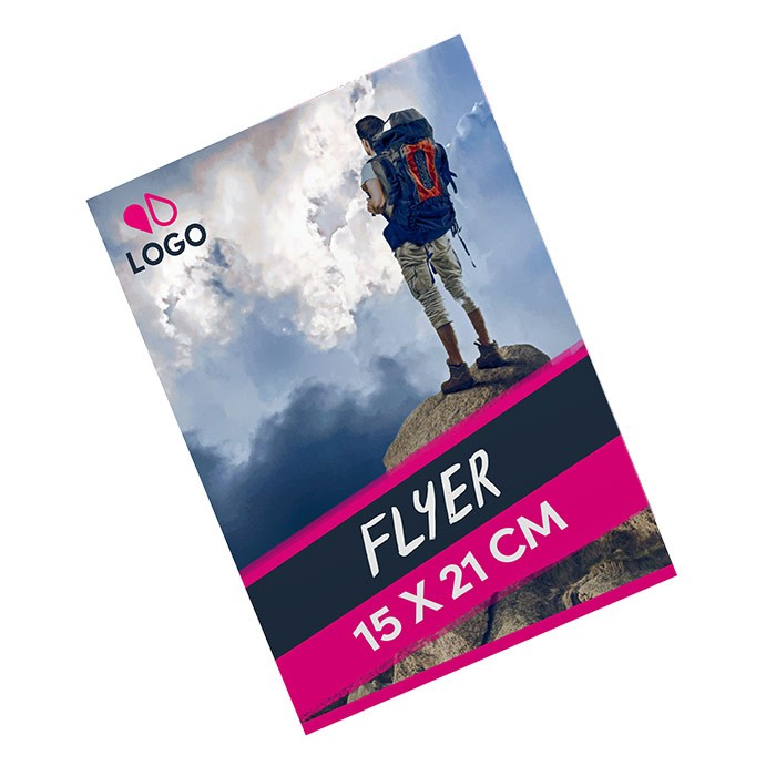 Flyer A5 170g Recto 500 ex