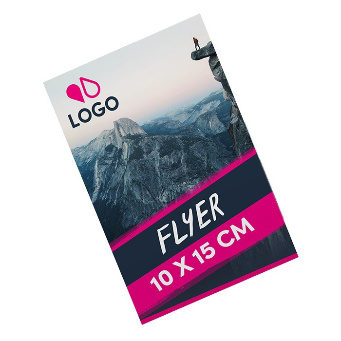 Flyer A6 300g recto verso 1000 ex