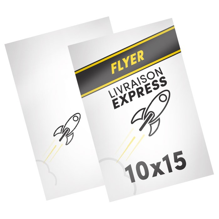 Flyers Express A6 recto verso - 500 ex