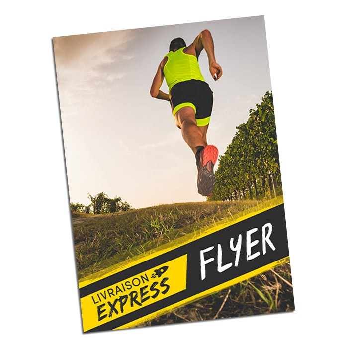 Flyers Express A3 recto - 100 ex