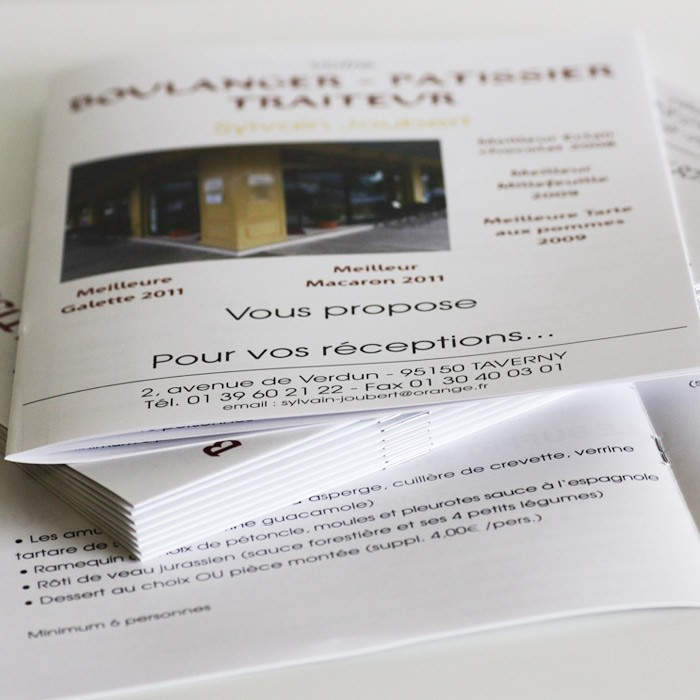 Brochure A5 8 pages sans couverture - 4000 ex