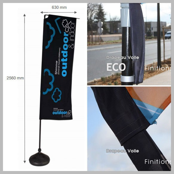Voile Eco Forme Rectangle 2.5m - 2 ex