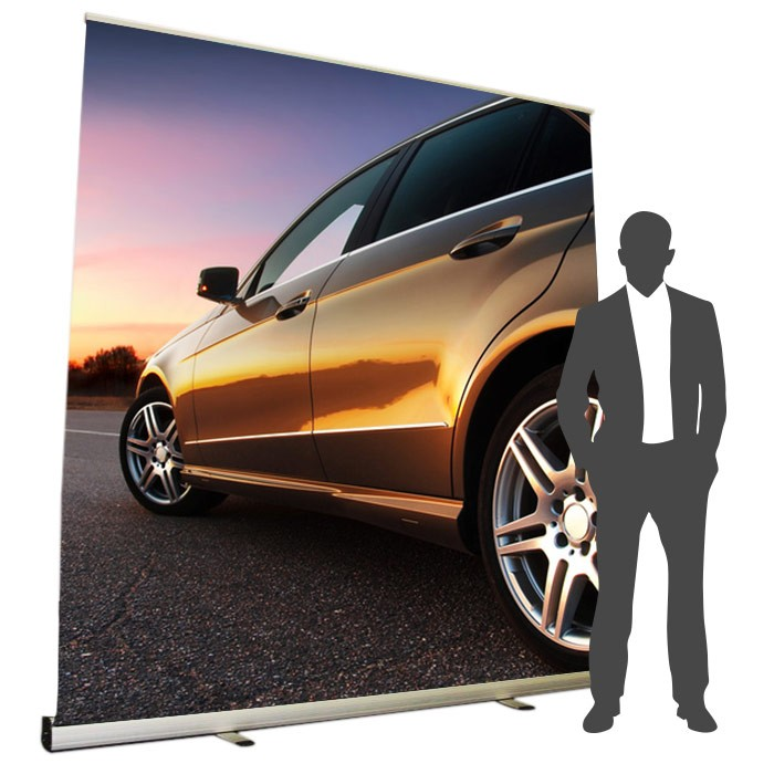 Roll UP Mosquito XL recto 200 x 200 cm - 1 ex