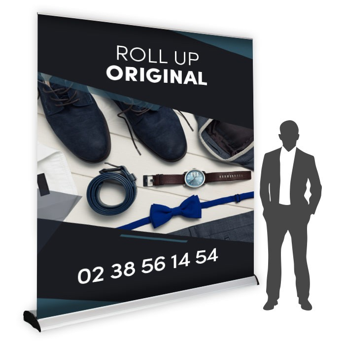 Roll UP Original recto 240 x 240 cm - 1 ex