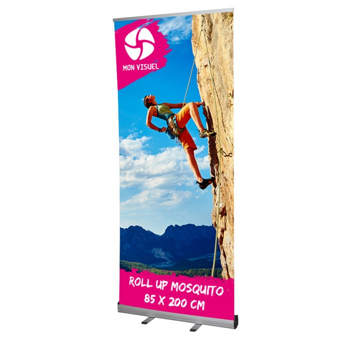Roll UP Mosquito recto 85 x 200 cm – 10 ex