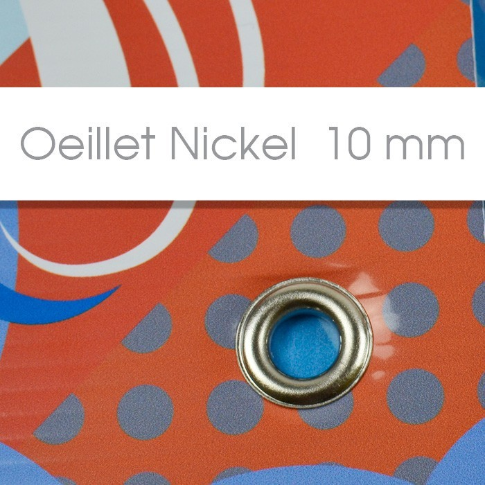 Oeillet Nickel 10 mm