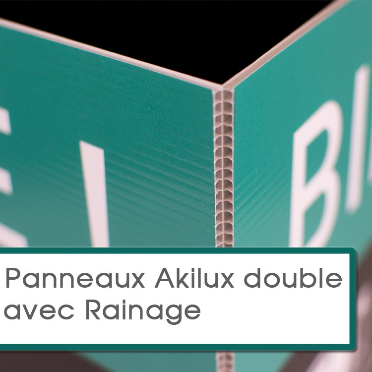 Rainage sur Akilux Double