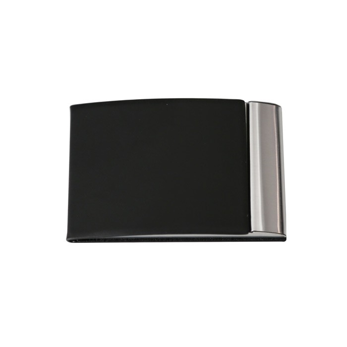 Porte cartes de visite simili-black