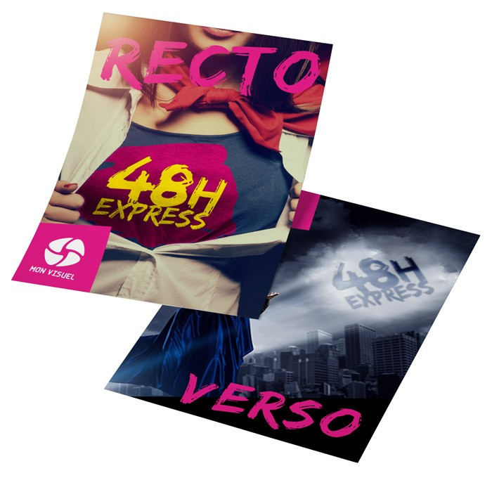 Flyers Express A5 recto verso - 1000 ex