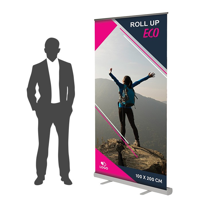 Roll Up Eco Recto 100 x 200 cm – 2 ex