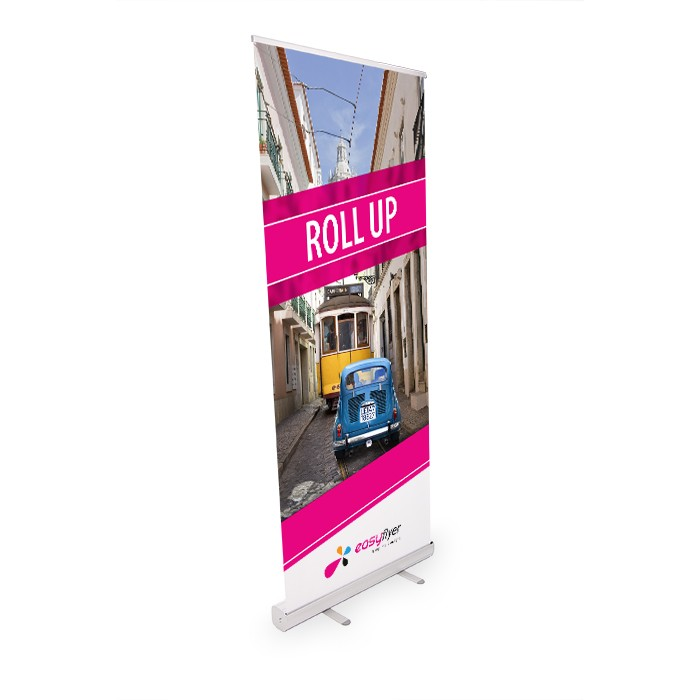 Roll UP Eco recto 85 x 200 cm – 4 ex